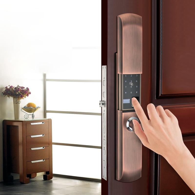 Nên dùng khóa cửa mã số vân tay thông minh hãng nào tốt giá bao nhiêu?