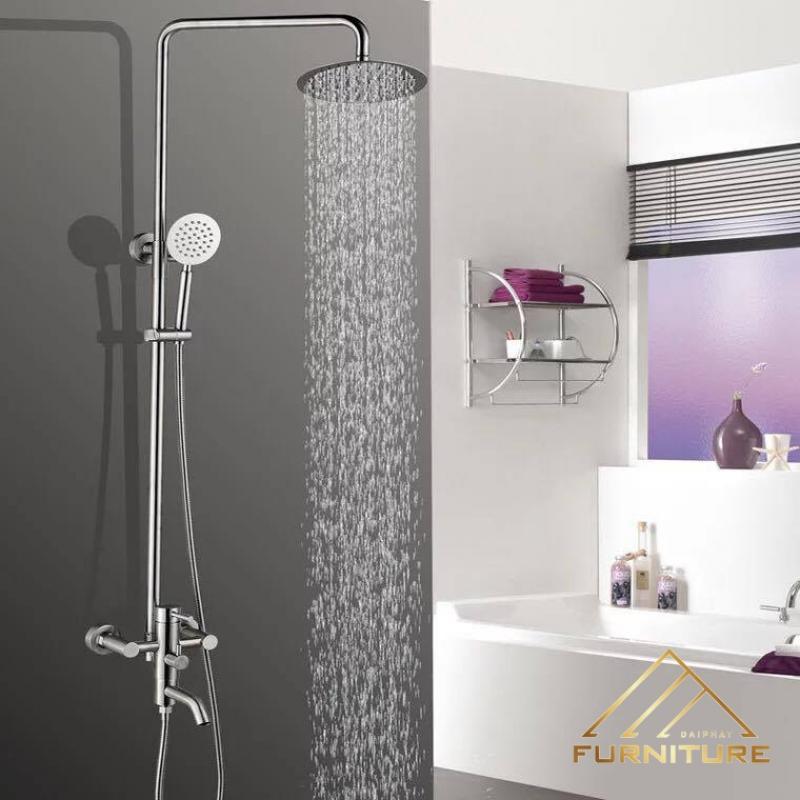 Giá tiền bộ vòi hoa sen cây tắm đứng nóng lạnh cao cấp rẻ tại tphcm