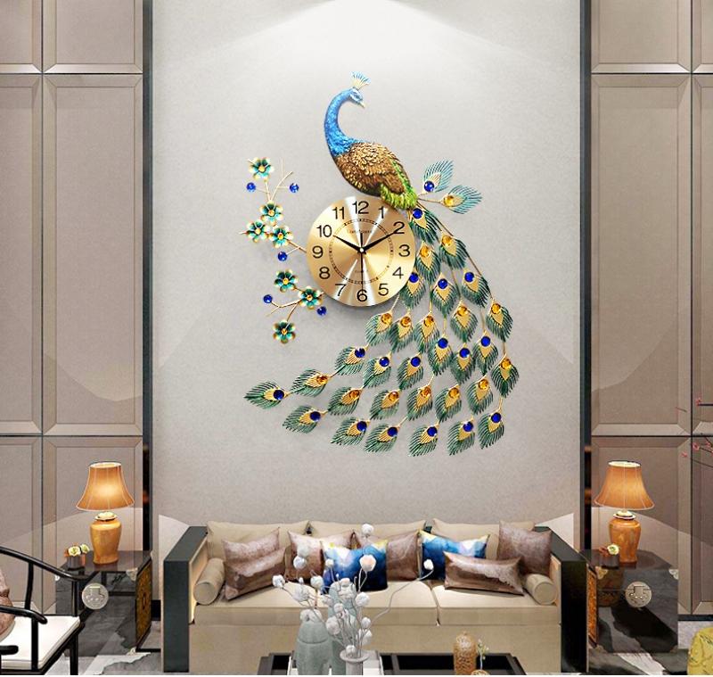 Ở đâu bán đồng hồ treo tường nghệ thuật trang trí phòng khách hiện đại đẹp giá rẻ hcm?