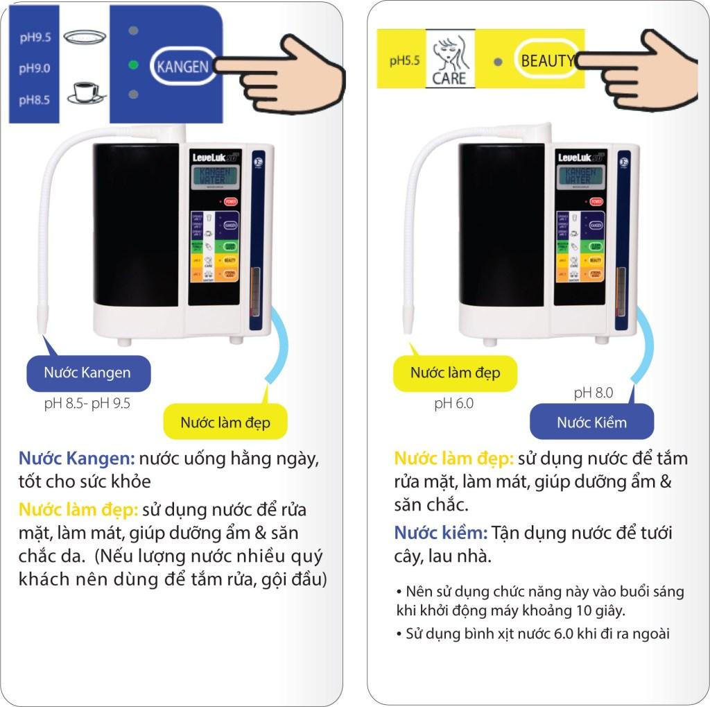 Cách sử dụng máy lọc nước điện giải kangen k8 tốt nhất