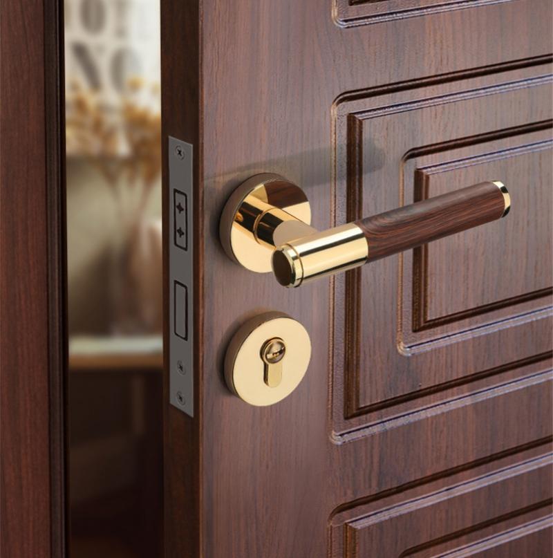 Thiết kế nội thất đẹp cùng với khóa cửa tay gạt giá rẻ?