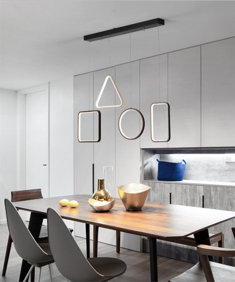 Khoảng cách treo đèn thả trần cho bàn ăn thế nào là phù hợp?