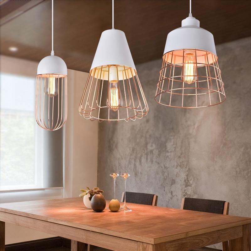Đèn thả trần trang trí bàn ăn đẹp DTT-078/1 Ø13cm
