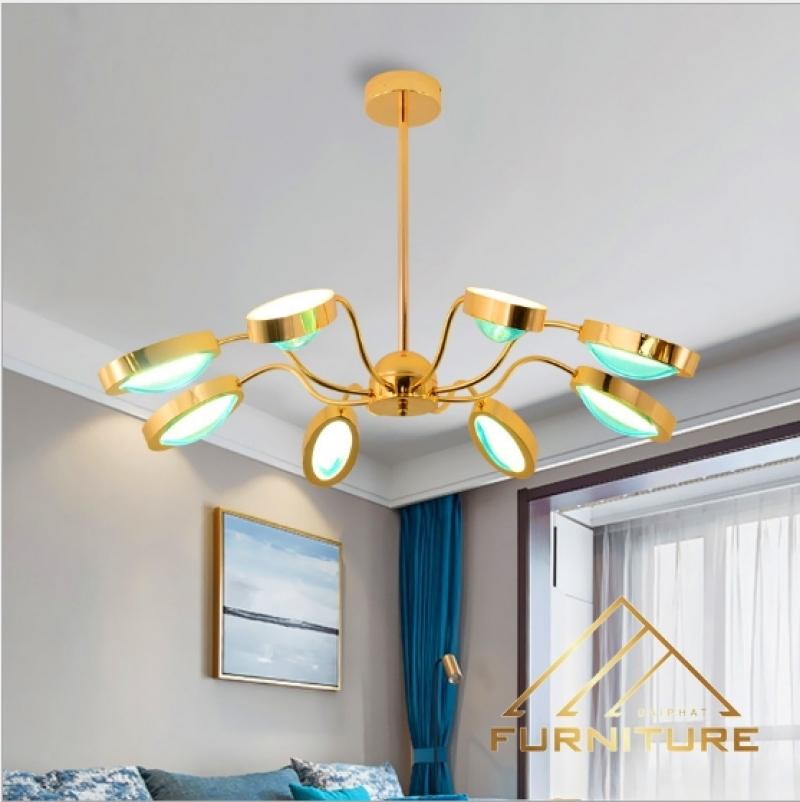 Đèn thả trần trang trí phòng khách cao cấp 038