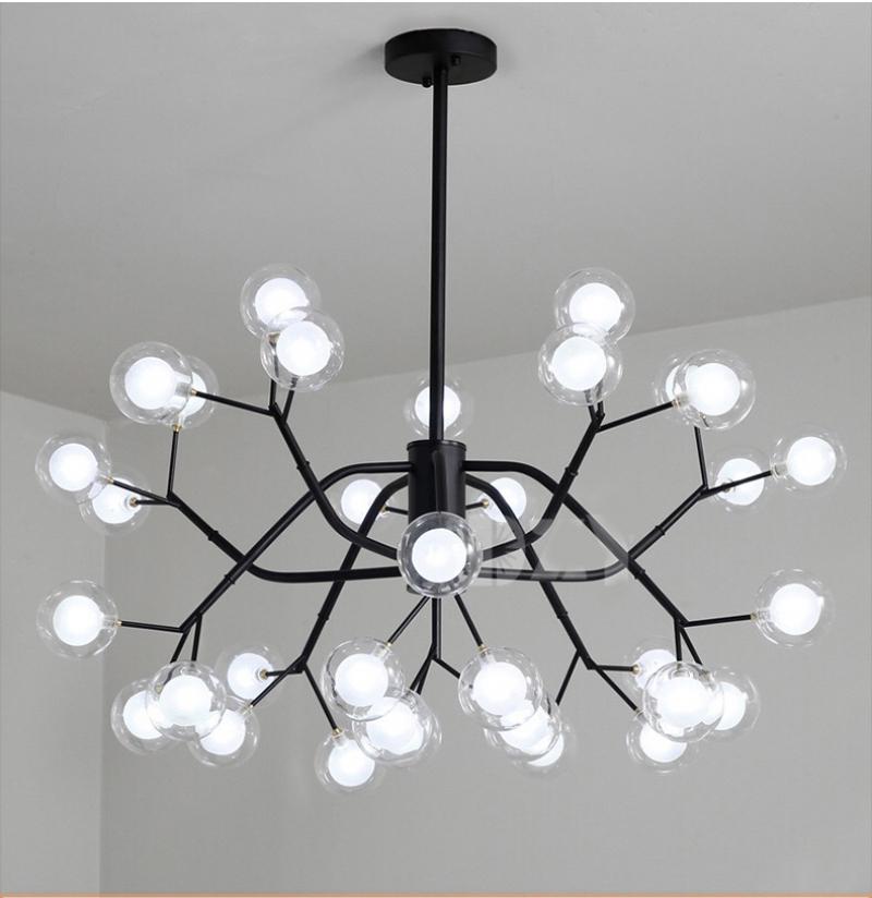 Đèn thả trang trí phòng khách cao cấp DTT-080/18