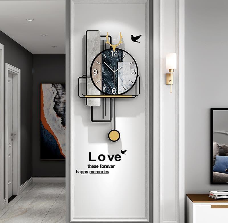 Gợi ý 5 mẫu đồng hồ treo tường nghệ thuật trang trí nhà theo xu hướng 2022
