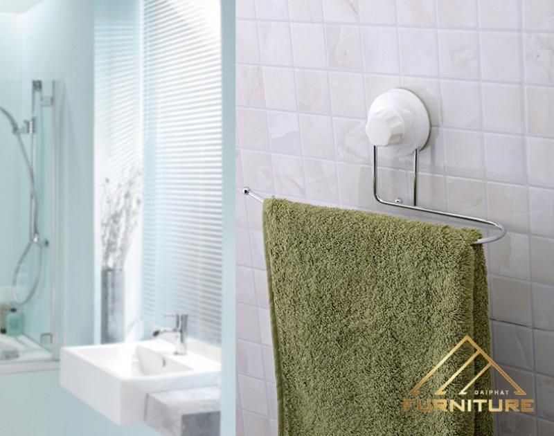 Giá treo khăn, giấy vệ sinh treo nhà tắm 003