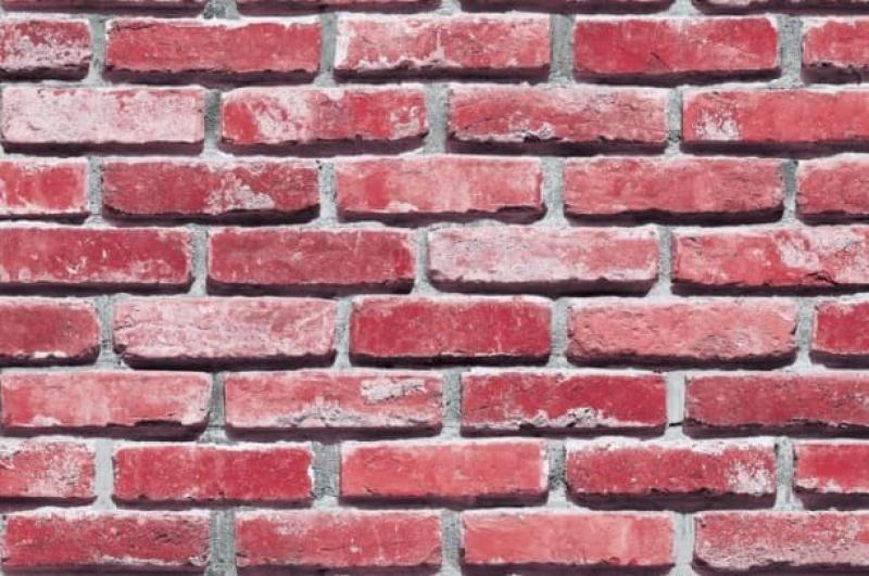 Giấy dán tường Hàn Quốc giả gạch nhiều màu 010
