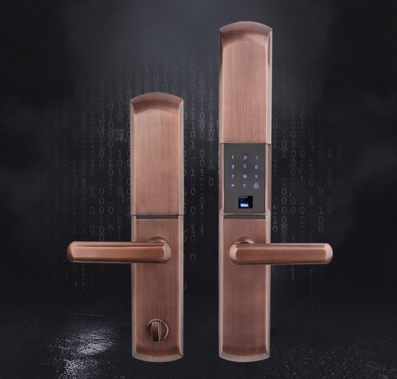 Nên dùng chốt ổ khóa cửa phòng khách mã số vân tay thông minh hãng nào tốt giá bao nhiêu?