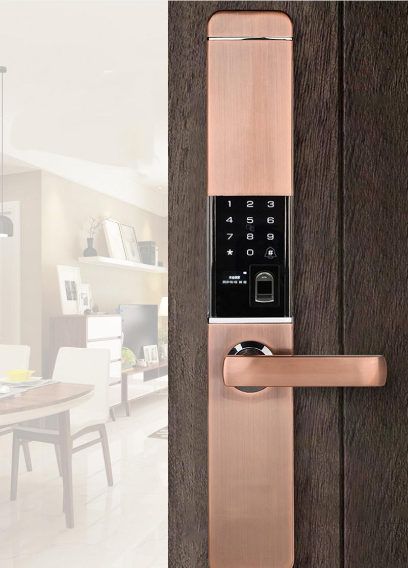 Cách xử lý sự cố khóa cửa thông minh không nhận vân tay