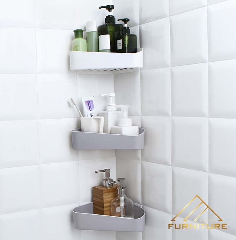 Kệ đặt xà bông phòng tắm tam giác 005
