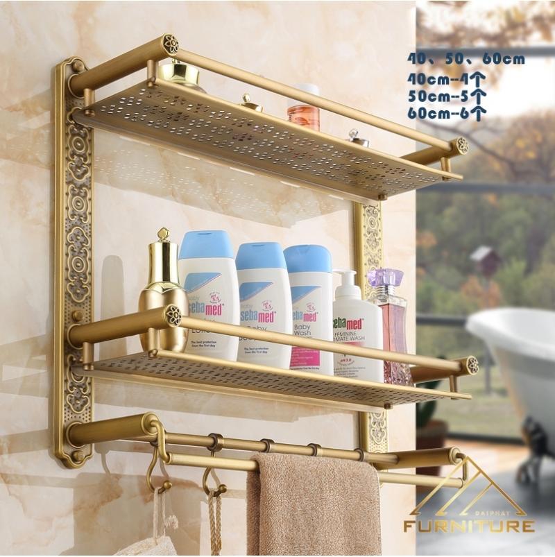 Phụ kiện giá treo tường nhà tắm cao cấp 018