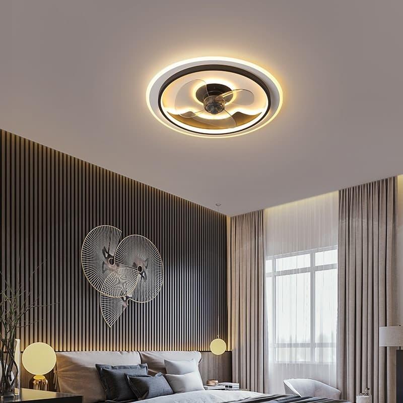 Vua bán quạt trần đèn chùm trang trí phòng khách hiện đại cao cấp giá rẻ tphcm