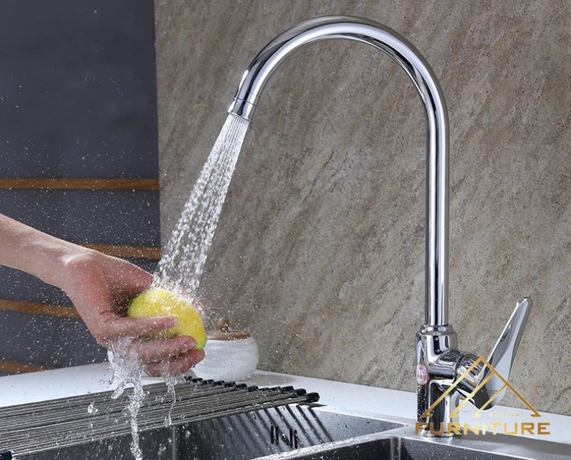 Vòi rửa chén nóng lạnh Yoroow 001