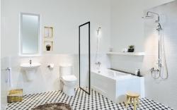 Đại lý phân phối thiết bị vệ sinh vòi sen cho nhà thầu công trình