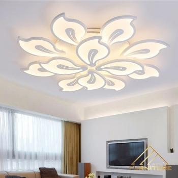 Đèn led ốp trần nhà acrylic hiện đại cao cấp 069