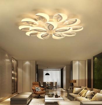 Đèn led ốp trần nhà kiểu dáng châu Âu cao cấp 067