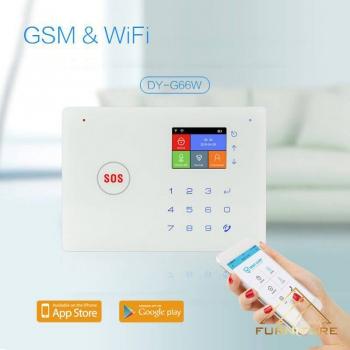 Thiết bị chống trộm qua điện thoại tích hợp gsm +...