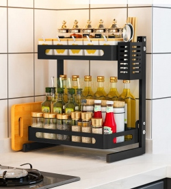 Tiết lộ top 3 kệ đựng gia vị treo tường nhà bếp siêu tiện dụng