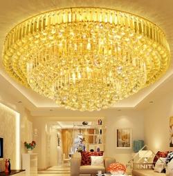 Tổng kho đèn chùm ốp trần pha lê nến trang trí hiện đại cao cấp...